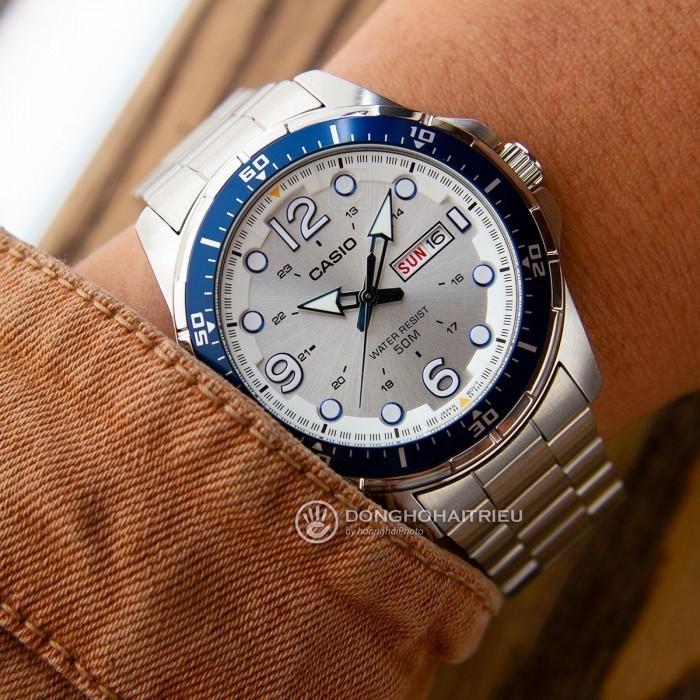 Đồng hồ Casio MTD-100D-7A2VDF, Dạ Quang 2