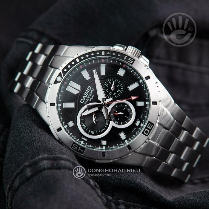 Đồng hồ Casio MTD-1060D-1AVDF, Dạ Quang 4