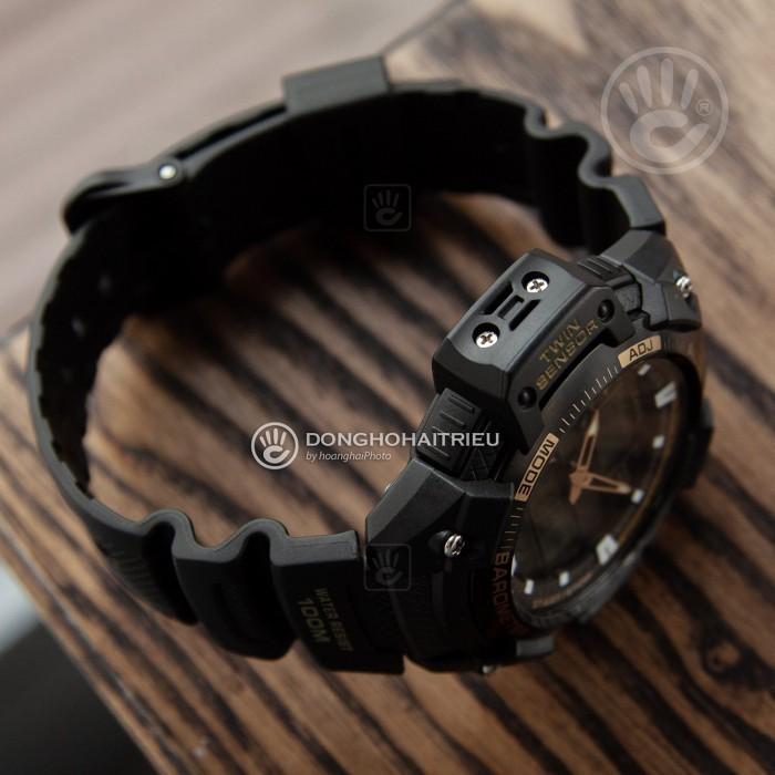 Đồng hồ Casio SGW-400H-1B2VDR Kính Nhựa 4