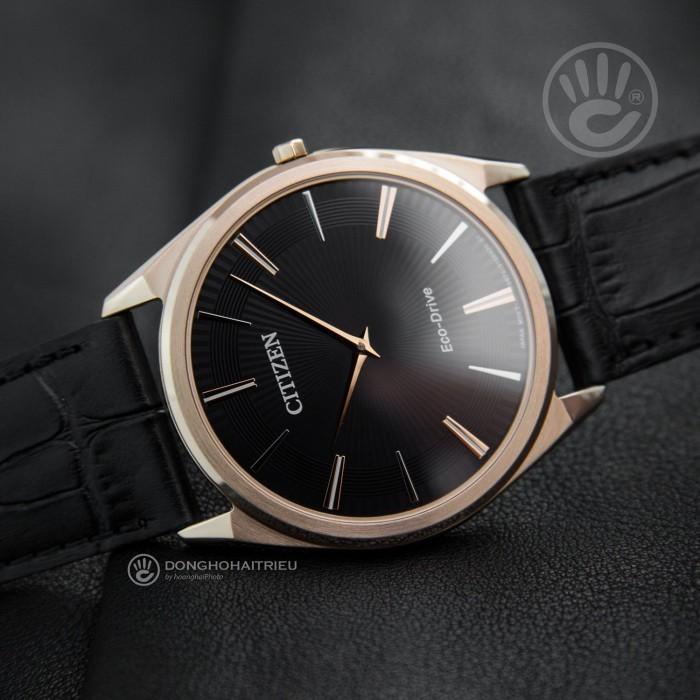 Đồng hồ Citizen AR3073-06E, Bộ Máy Năng Lượng Ánh Sáng, Siêu Mỏng 2