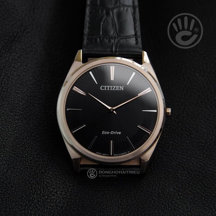 Đồng hồ Citizen AR3073-06E, Bộ Máy Năng Lượng Ánh Sáng, Siêu Mỏng 3