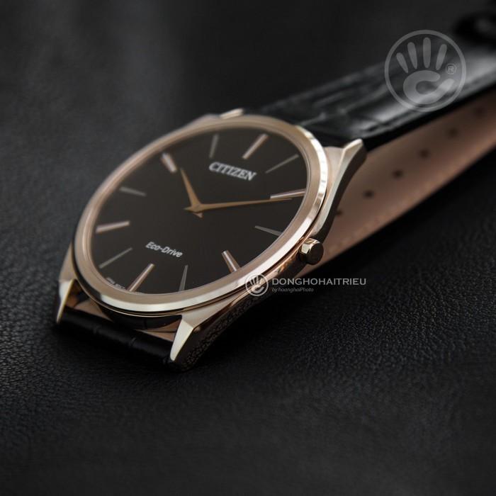 Đồng hồ Citizen AR3073-06E, Bộ Máy Năng Lượng Ánh Sáng, Siêu Mỏng 4