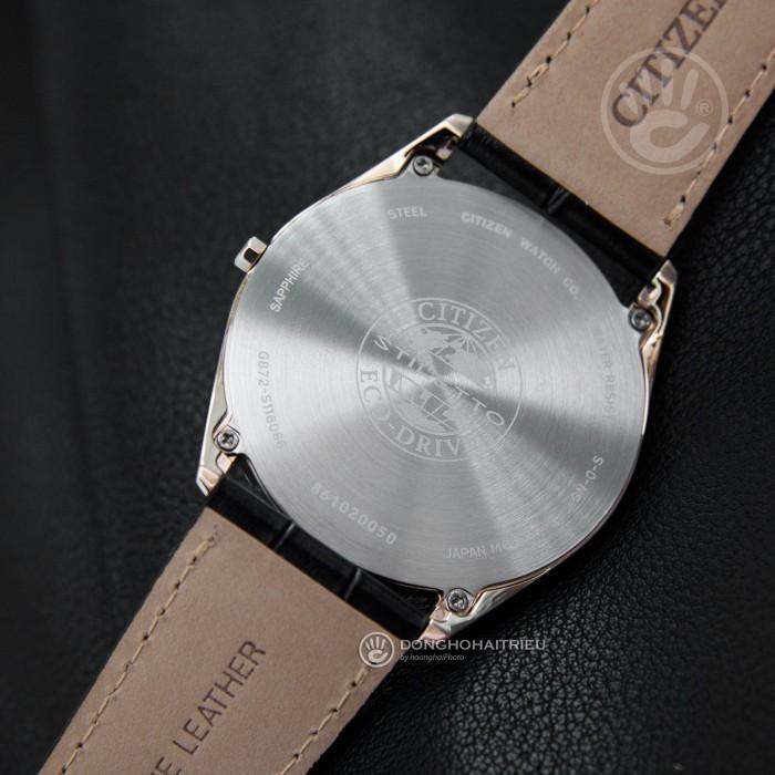 Đồng hồ Citizen AR3073-06E, Bộ Máy Năng Lượng Ánh Sáng, Siêu Mỏng 5