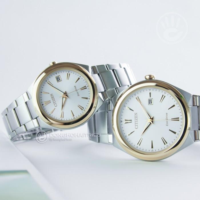 Đồng hồ Citizen FE6024-55B, Bộ Máy Năng Lượng Ánh Sáng, Siêu Mỏng 3