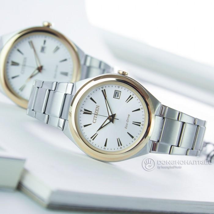 Đồng hồ Citizen FE6024-55B, Bộ Máy Năng Lượng Ánh Sáng, Siêu Mỏng 4