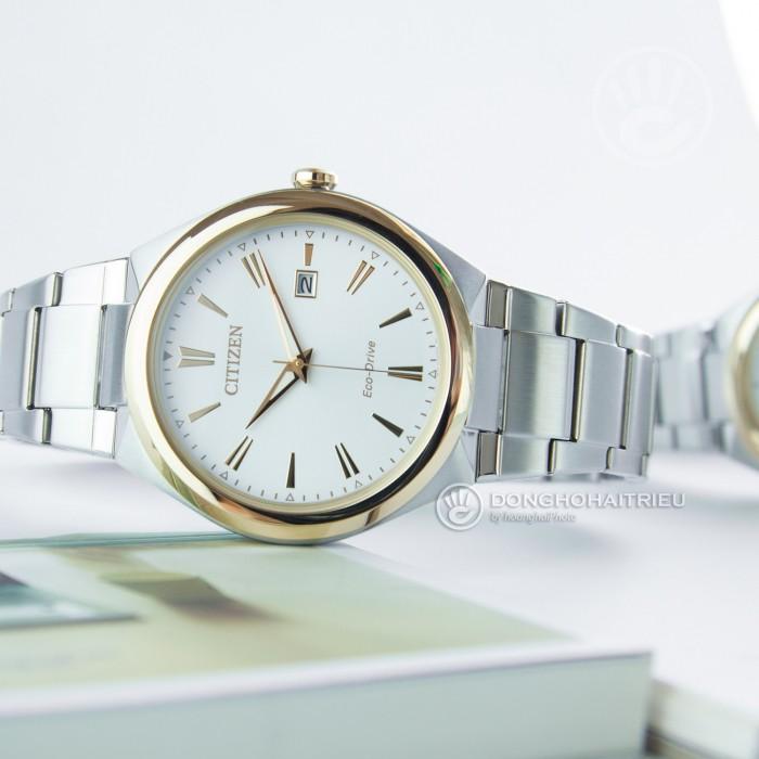 Đồng hồ Citizen FE6024-55B, Bộ Máy Năng Lượng Ánh Sáng, Siêu Mỏng 2