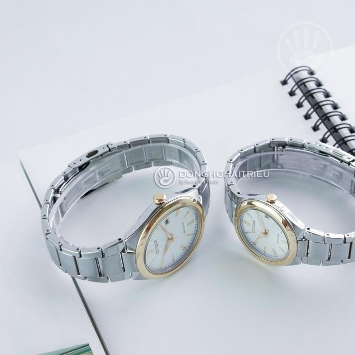 Đồng hồ Citizen FE6024-55B, Bộ Máy Năng Lượng Ánh Sáng, Siêu Mỏng 5