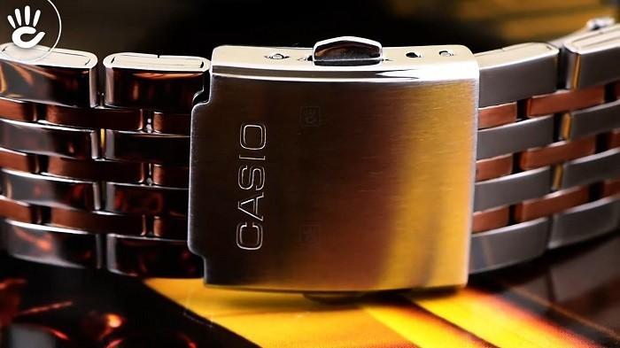 Review đồng hồ Casio MTP-E316RG-7AVDF: đồng hồ 6 kim độc đáo-3