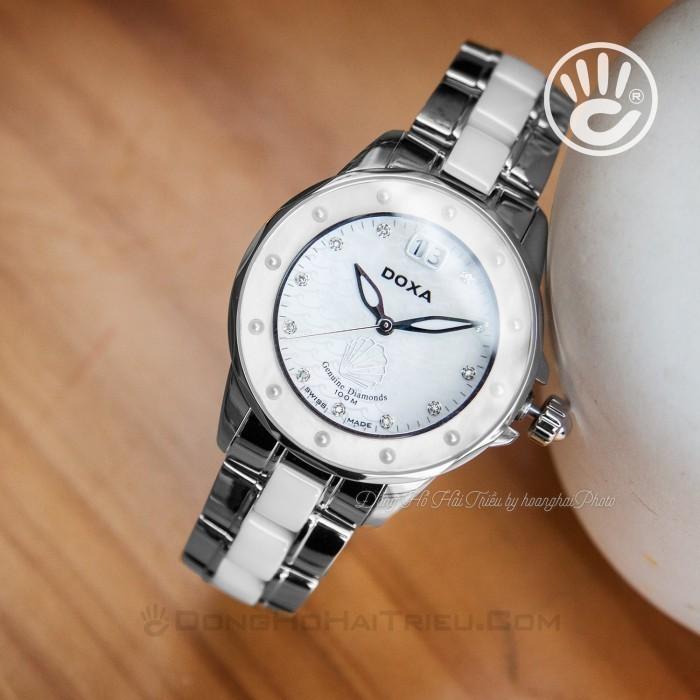 Đồng hồ Doxa D151SMW Kính Sapphire 3