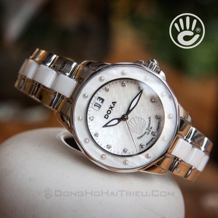 Đồng hồ Doxa D151SMW Kính Sapphire 4