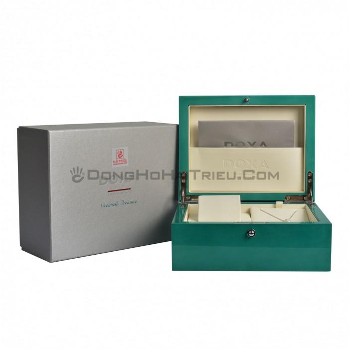 Đồng hồ Doxa D151SMW Kính Sapphire 8