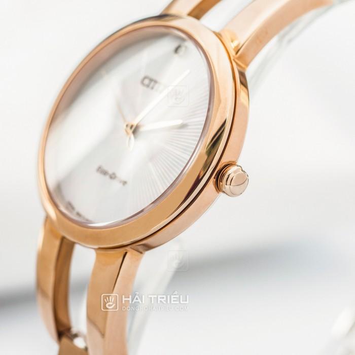 Đồng hồ Citizen EM0433-87D Kính Sapphire, Bộ Máy Năng Lượng Ánh Sáng 5