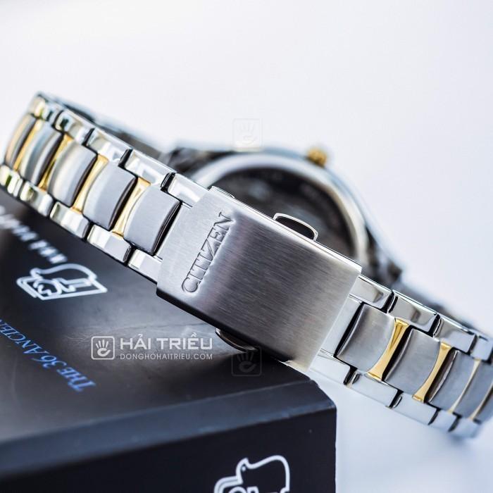 Đồng hồ Citizen EO1184-81D khảm xà cừ, đính pha lê cao cấp 5