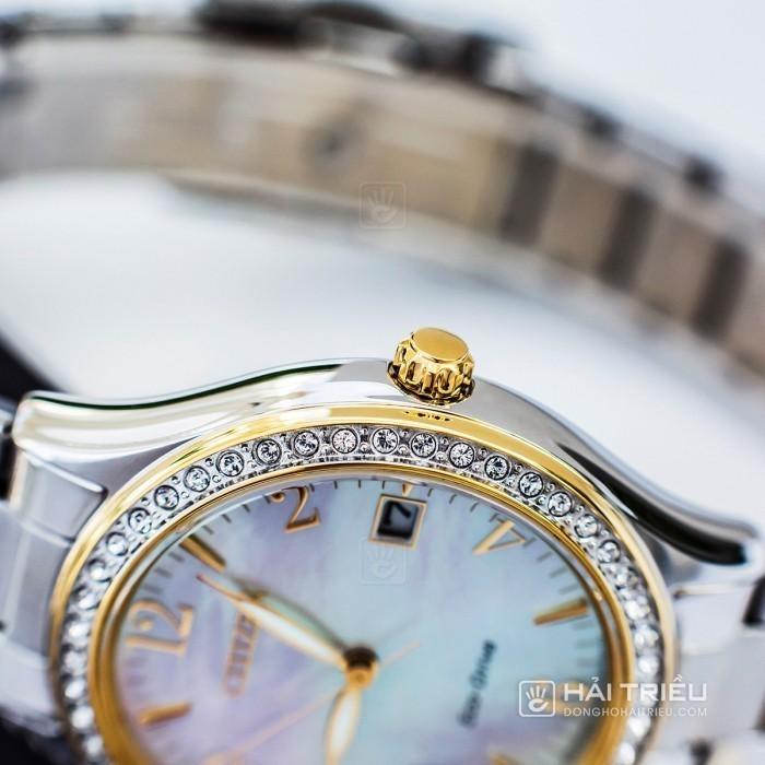 Đồng hồ Citizen EO1184-81D khảm xà cừ, đính pha lê cao cấp 4