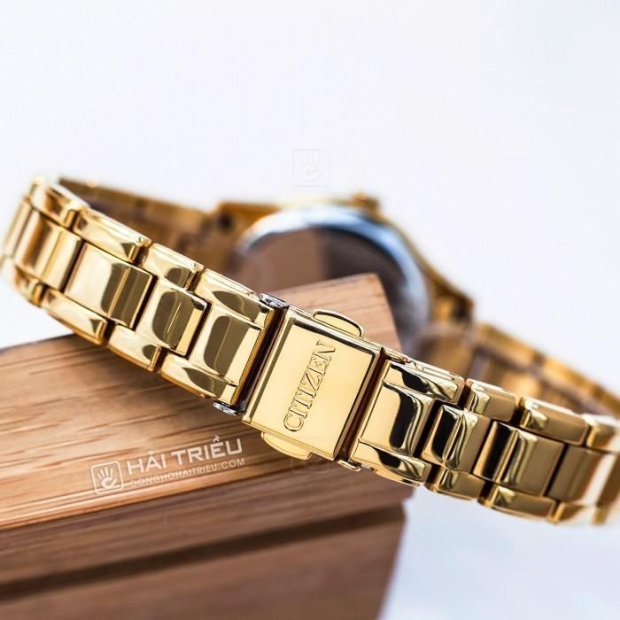 Đồng hồ Citizen FE1122-88P, Bộ Máy Năng Lượng Ánh Sáng, Siêu Mỏng 6