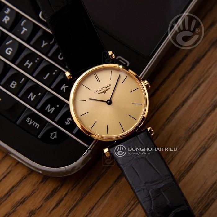 Đồng hồ Longines L4.209.2.32.2 Kính Sapphire, Siêu Mỏng 2