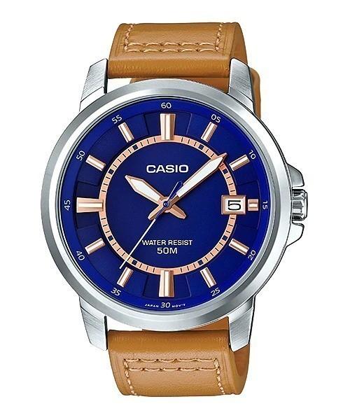 Đồng hồ nam Casio MTP-E130L-2A2VDF cam kết zin 100%, hàng mới nhưng bị rỉ sét tại vạch số 3h,9h,12h và khung lịch, full bảo hành và phụ kiện 1