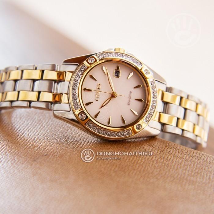 Đồng hồ Citizen EW2354-53P Kính Sapphire, Bộ Máy Năng Lượng Ánh Sáng 3
