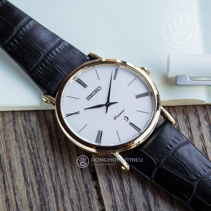 Đồng hồ Seiko SKP396P1 Kính Sapphire, Siêu Mỏng 2