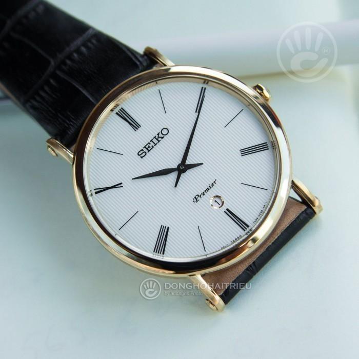 Đồng hồ Seiko SKP396P1 Kính Sapphire, Siêu Mỏng 4