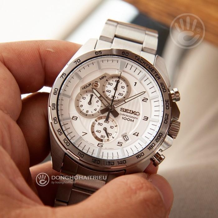 Đồng hồ Seiko SSB317P1, Chronograph 3