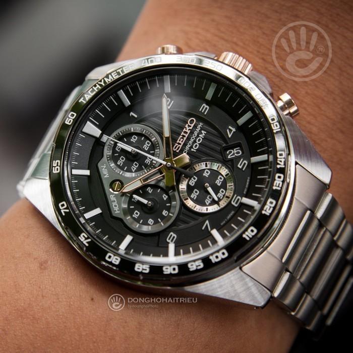 Đồng hồ Seiko SSB323P1, Chronograph 2