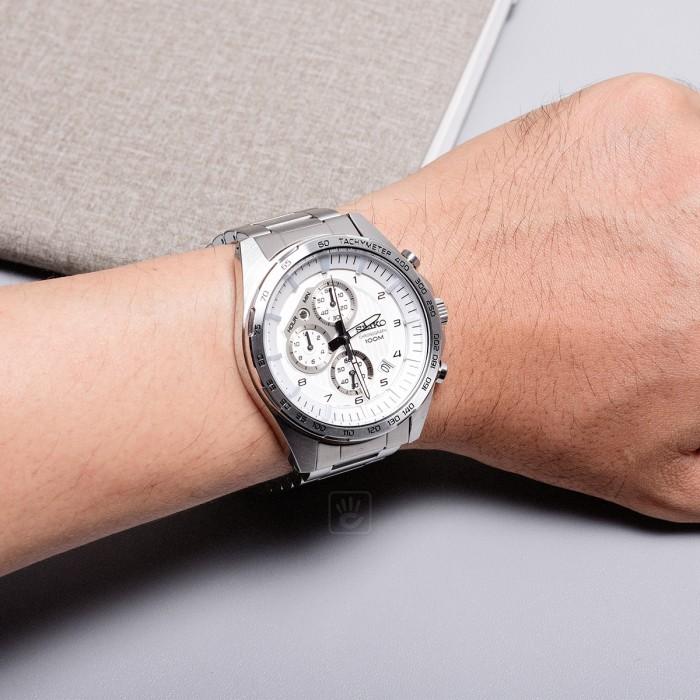 Đồng hồ Seiko SSB317P1, Chronograph 2
