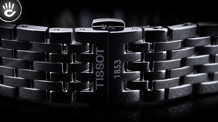 Đồng hồ Tissot T063.428.11.038.00: Mặt kính Sapphire bền bỉ-3