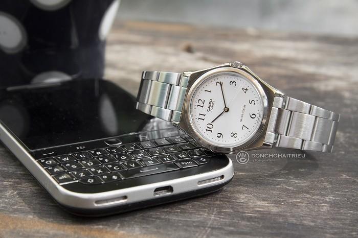 Đồng hồ Casio MTP-1130A-7BRDF kính Mineral Crystal - Ảnh 1