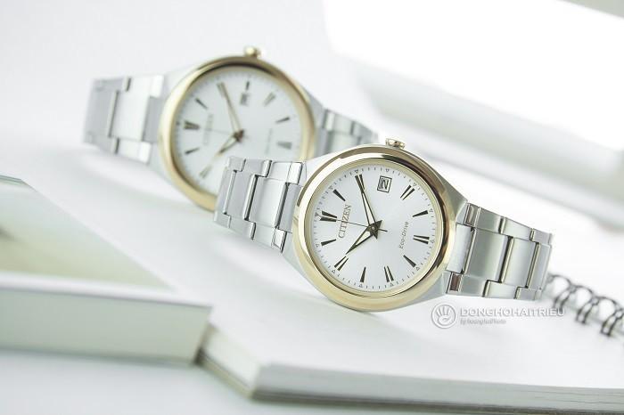 Đồng hồ Citizen FE6024-55B siêu mỏng dùng năng lượng xanh - Ảnh 5