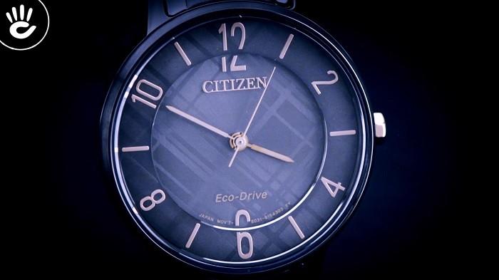 Đồng hồ Citizen EM0528-82H năng lượng ánh sáng mới nhất - Ảnh 1
