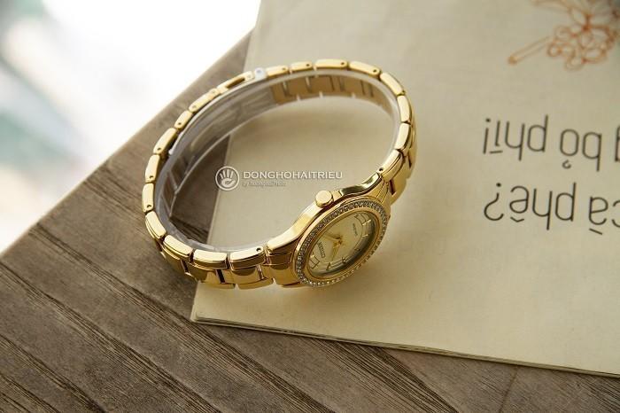 Đồng hồ Citizen FE1122-88P niềng đính đá pha lê Swarovski - Ảnh 4