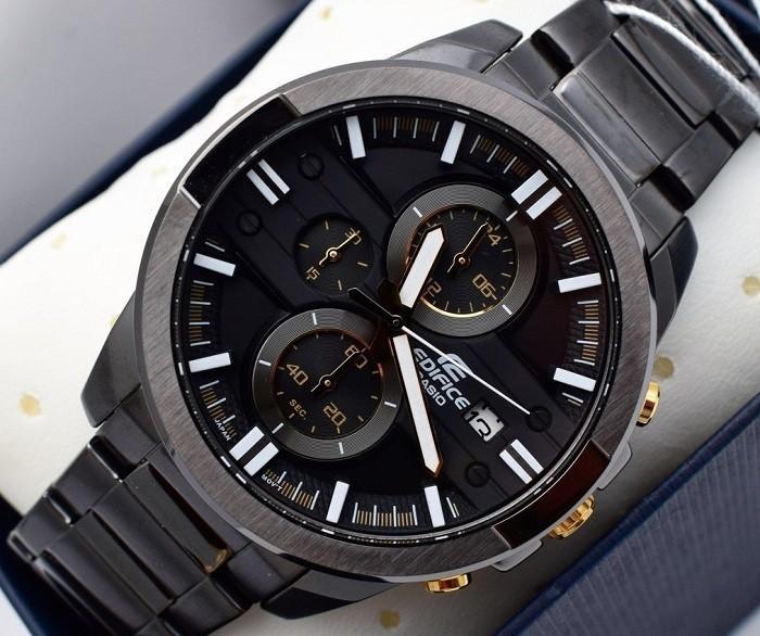 Đồng hồ nam Casio EFR-543BK-1A9VUDF kháng nước đến 10 ATM- Ảnh 2
