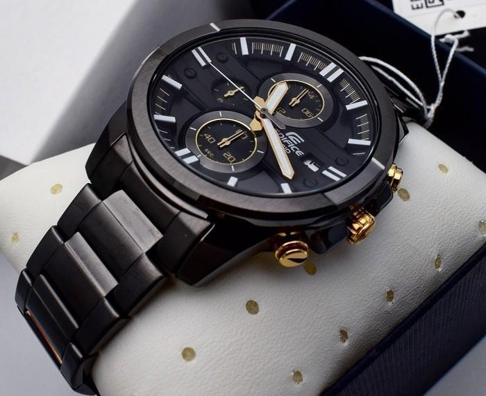 Đồng hồ nam Casio EFR-543BK-1A9VUDF kháng nước đến 10 ATM- Ảnh 4