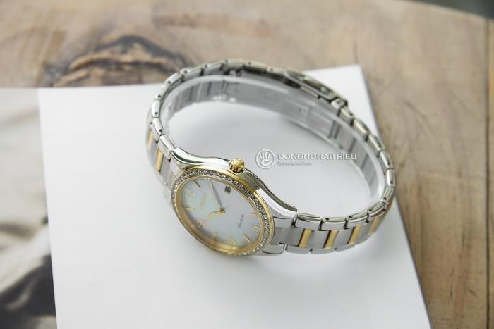 Đồng hồ Citizen EO1184-81D khảm xà cừ, đính pha lê cao cấp Ảnh 5