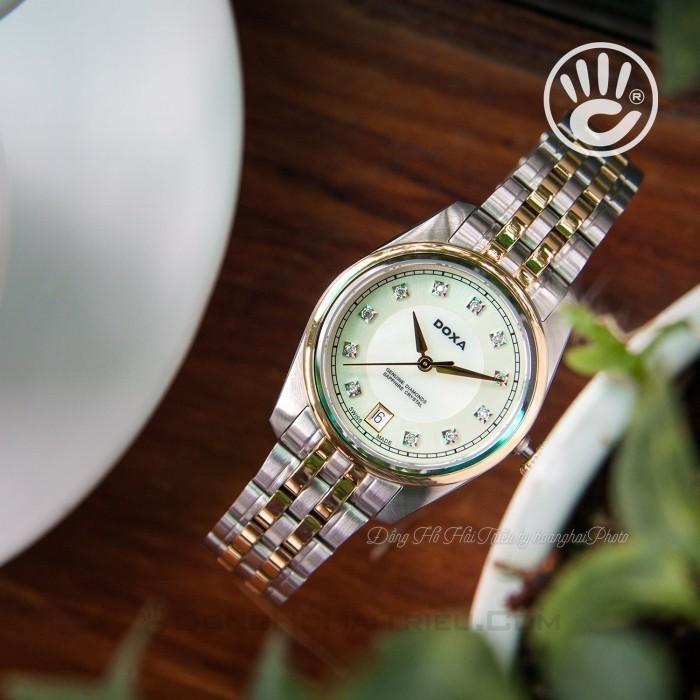 Đồng hồ Doxa D150TCM Kính Sapphire 3