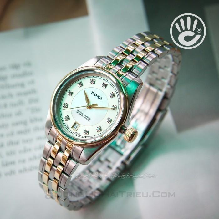 Đồng hồ Doxa D150TCM Kính Sapphire 5