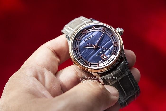 Review đồng hồ Doxa D198RAG phiên bản giới hạn toàn cầu - Ảnh 2