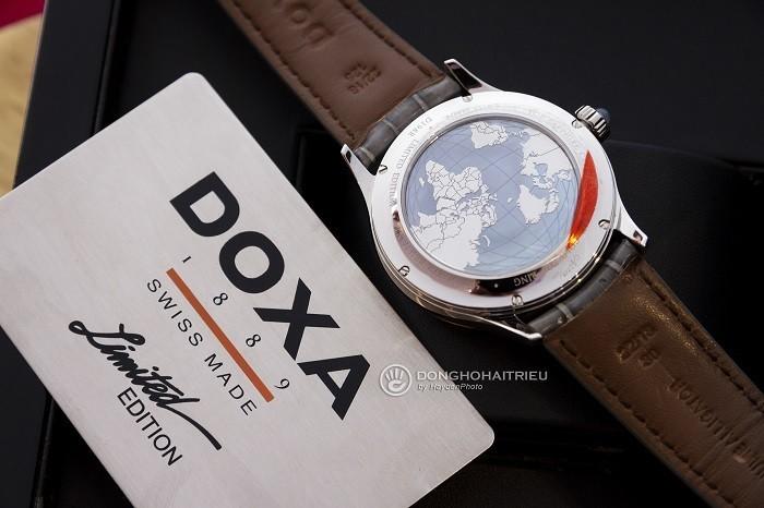 Review đồng hồ Doxa D198RAG phiên bản giới hạn toàn cầu - Ảnh 4