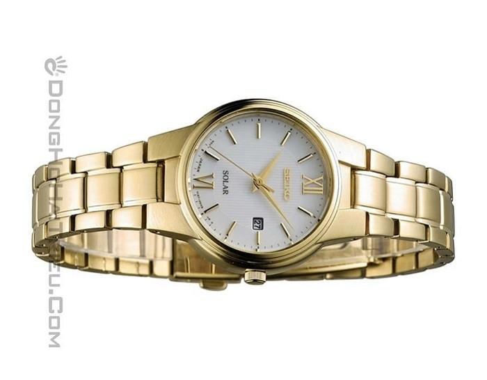 Đồng hồ Seiko SUT232P1 sang trọng với thiết kế màu gold - Ảnh 4