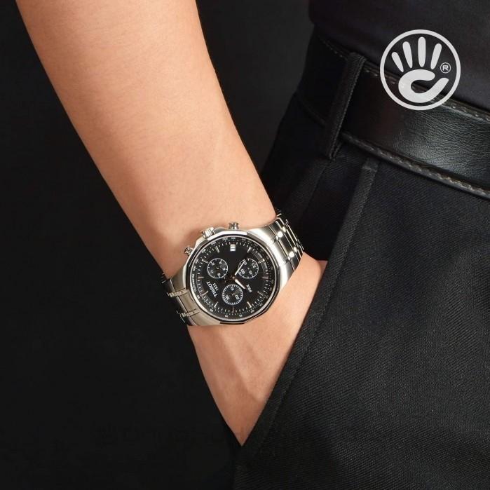 Đồng hồ nam Tissot T077.417.11.051.00 cũ cam kết zin 100% nhưng bị trầy đáy và phai số seri, full phụ kiện 2