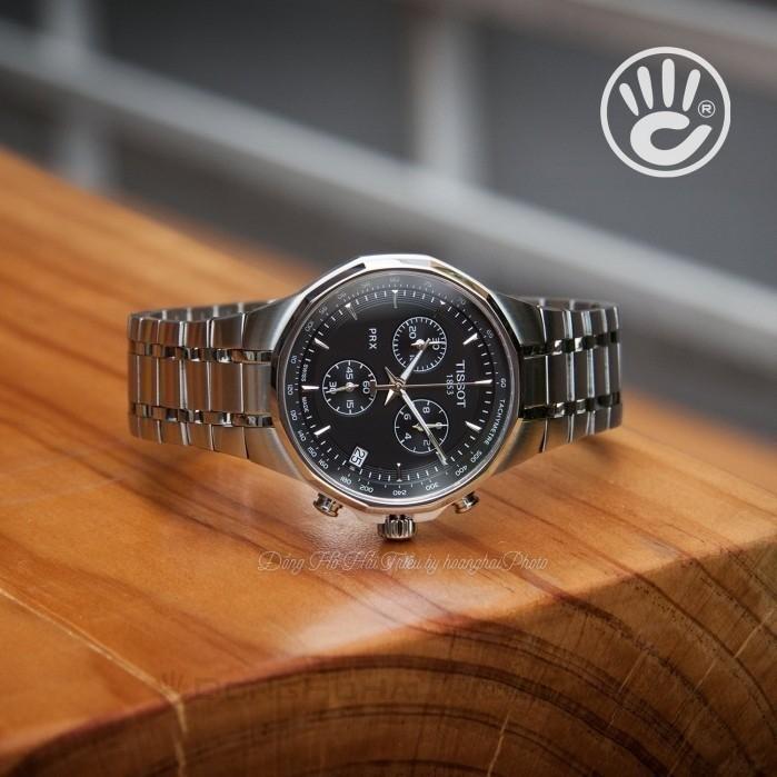 Đồng hồ nam Tissot T077.417.11.051.00 cũ cam kết zin 100% nhưng bị trầy đáy và phai số seri, full phụ kiện 4