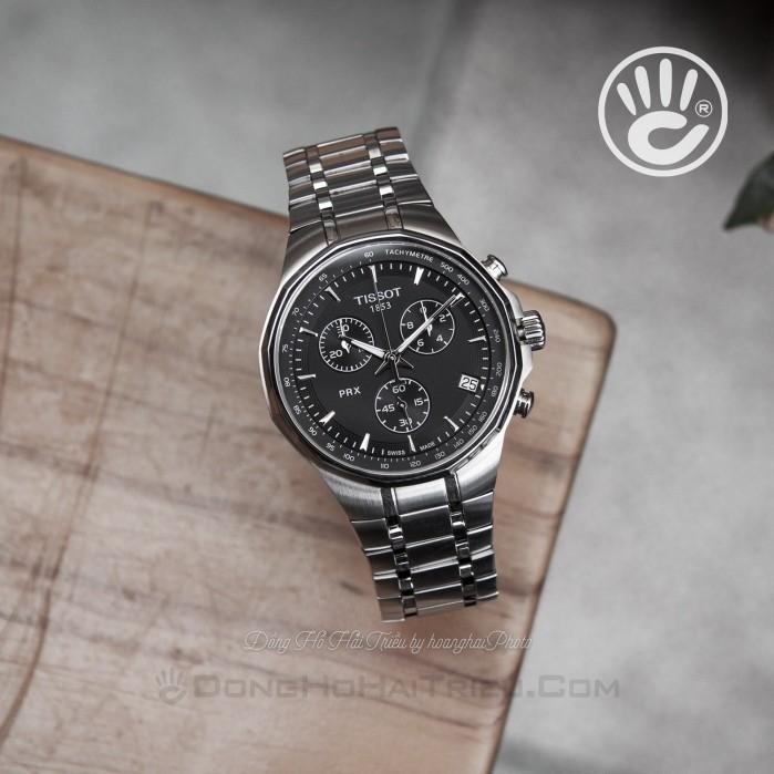Đồng hồ nam Tissot T077.417.11.051.00 cũ cam kết zin 100% nhưng bị trầy đáy và phai số seri, full phụ kiện 3