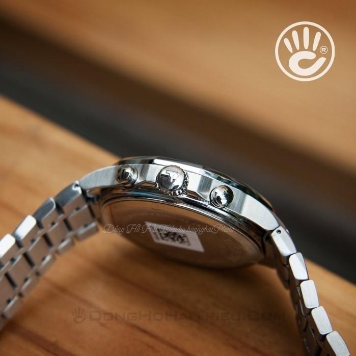 Đồng hồ nam Tissot T077.417.11.051.00 cũ cam kết zin 100% nhưng bị trầy đáy và phai số seri, full phụ kiện 5