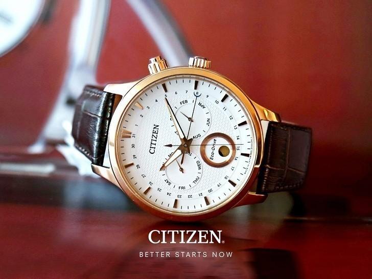 Đồng hồ Eco-Drive Citizen AP1052-00A năng lượng ánh sáng - Ảnh 4