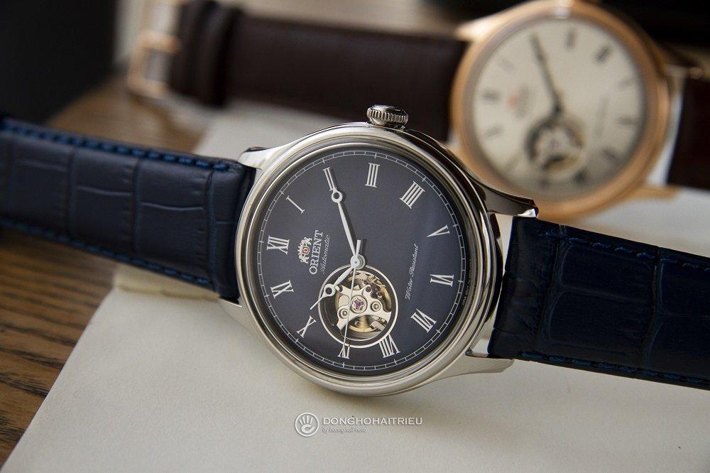 Chiếc đồng hồ Orient mặt xanh thuộc BST Orient 1010 huyền thoại - Ảnh 3