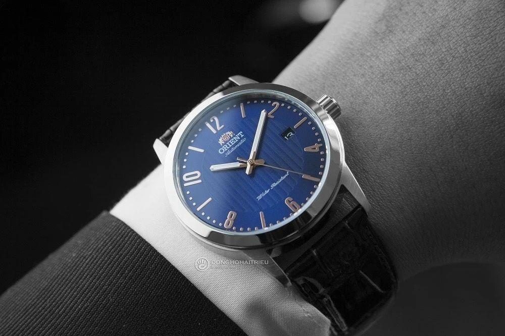 Đồng hồ Orient mặt xanh FAC05007D0 nằm trong bộ sưu tập Howard huyền thoại - Ảnh 15