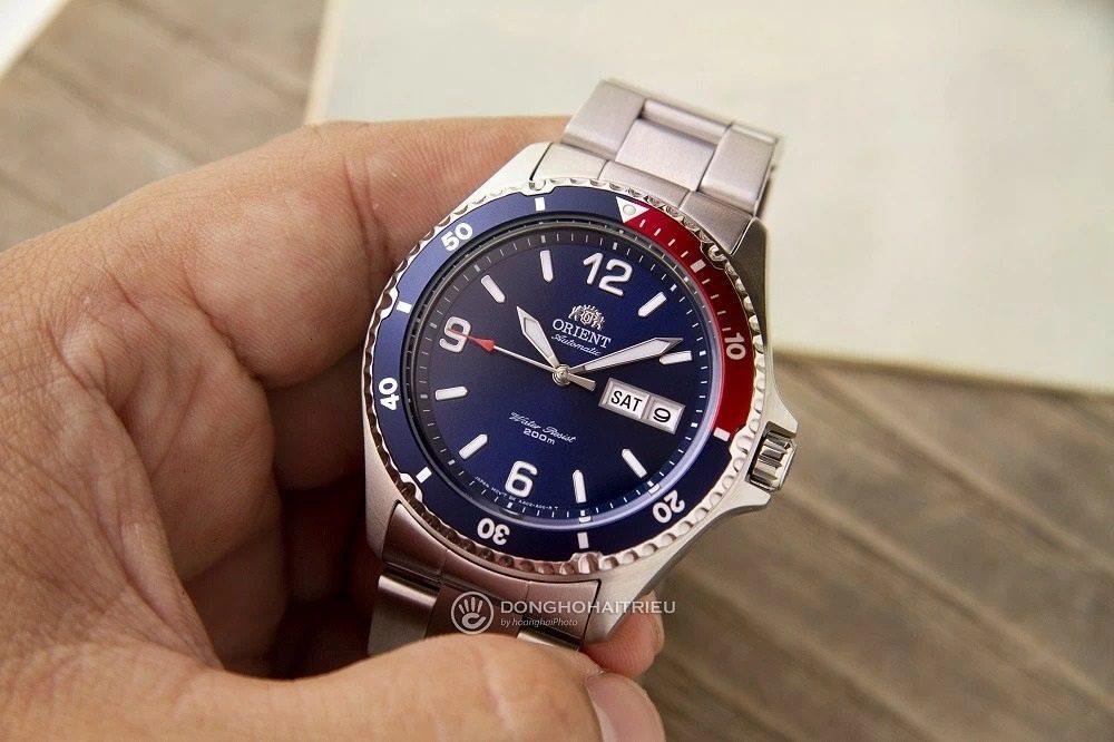 Ấn tượng với mẫu đồng hồ Orient mặt xanh FAA02009D9 có thời gian trữ cót lên đến 40 tiếng - Ảnh 16