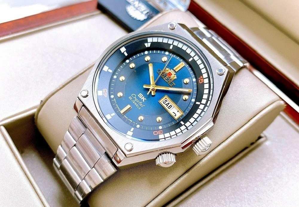 Orient RA-AA0B03L19B - Mẫu đồng hồ nam giá từ 5 đến 10 triệu được yêu thích bởi nền mặt số xanh - Ảnh 19