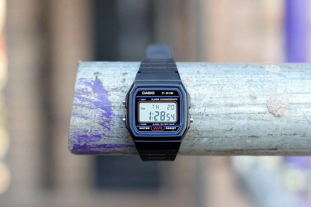 Đánh giá Casio F-91W: Đồng hồ Casio huyền thoại một thời 1
